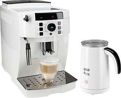 [Quelle] De'Longhi Kaffeevollautomat »ECAM 21.118.W«, inkl. Milchaufschäumer im Wert von 55€ + 2,5 % shoop