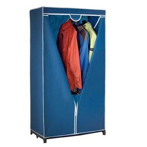 Textilkleiderschrank mit Reißverschluss, faltbar @Ebay/Plus.de