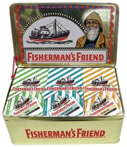 Fisherman's Friend XXL Nostalgiedose, 1er Pack (1 x 1.8 kg) (Amazon Blitz)