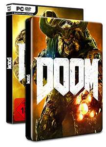 DOOM - 100% Uncut - Day One Edition inkl. Steelbook (exklusiv bei Amazon.de) - [PC] für 20,97€