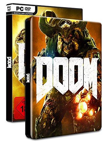 DOOM - 100% Uncut - Day One Edition inkl. Steelbook (exklusiv bei Amazon.de) - [PC] für 20,97€