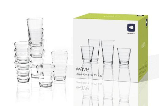 Leonardo Wave Gläser 12-TEILIG+VSK 3,95€