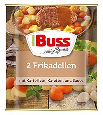 BUSS / Fertiggerichte 800 g Dosen, 6er Pack, verschiedene Sorten (Links in der Dealbeschreibung) / 9,77€ statt 14,94€ @AmazonPrime