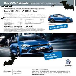 Scirocco R 2.0 TSI 280PS / 6-Gang / Leasing oder Barkauf