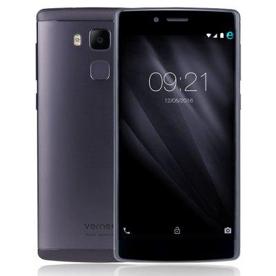 (GB aus HK-2 oder TT aus Deutschland) Vernee Apollo Lite 4G + phablet  -  EU PLUG, Android 6.0 MTK6797 Deca-Core 4 GB RAM 32 GB ROM 16.0MP Hauptkamera Corning Gorilla-Glas-3-Typ-C Fingerabdruck-Sensor (Schwarz und Silber)