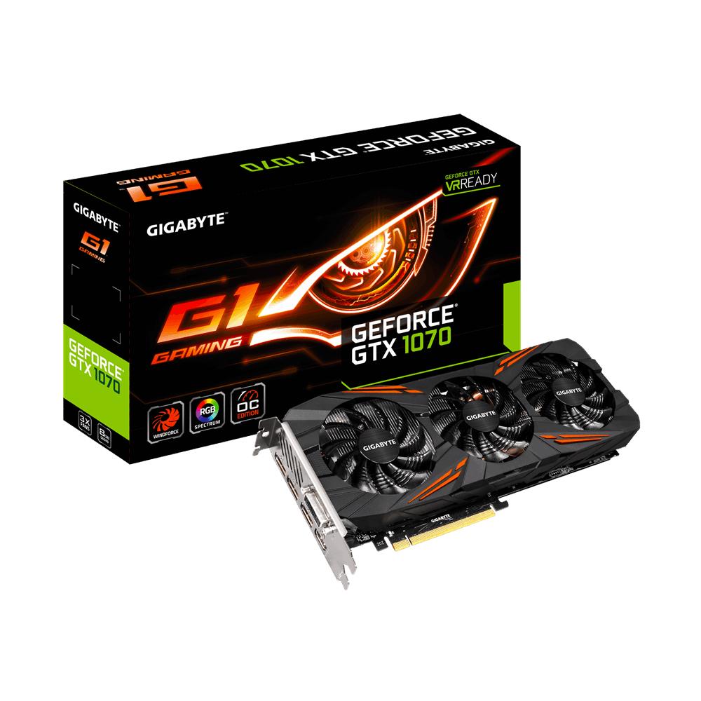 Gigabyte GeForce GTX 1070 G1 Gaming Amazon FR  für 399,42€