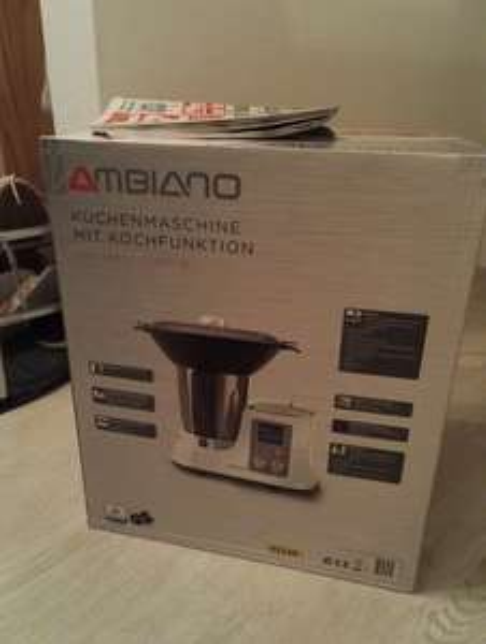 Ambiano Küchenmaschine mit Kochfunktion von Aldi