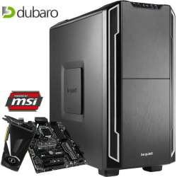 Gaming PC (i5-7600K, 16GB RAM, 240GB SSD, MSI Z270 PC Mate, MSI Geforce 1080 Aero 8G OC, be quiet Pure Rock, Super Flower Platinum King 550W, be quiet Silent Base 600) für 1399€ [Dubaro]