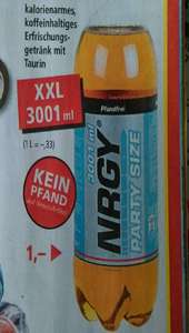 [Thomas Philipps] NRGY Energy Drink  3001ml ohne Pfand