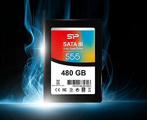 [amazon.fr] Silicon Power 480GB Slim S55 2,5-Zoll 7mm SATA-III Internes Solid State Drive SSD  bis zu 500/450 MB/s für 118,67€