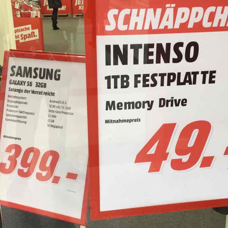 Samsung S6 Smartphone in Frankfurt