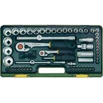 PROXXON Steckschlüsselsatz 12,5mm+6,3mm (65-teilig)