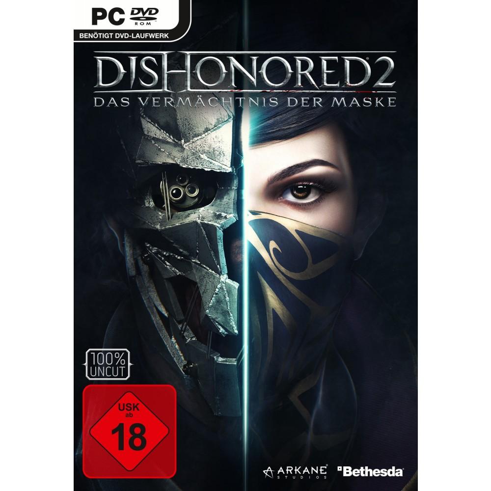 (Lokal Müller) Dishonored II – Das Vermächtnis der Maske (PC) für 19,99€ & (Xbox One & PS4) für 24,99€