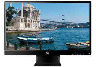 HP 27vx Monitor (27'' FHD IPS, 250cd/m², 1.000:1, HDMI + VGA + DVI, EEK A) für 149€ [Mediamarkt]
