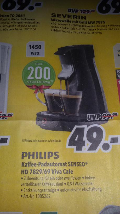 Philips Senseo HD 7829/69 Viva Café