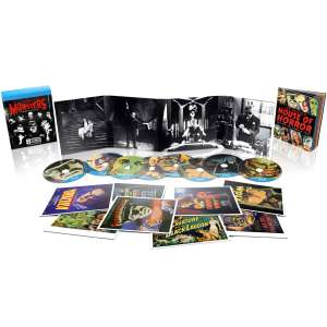 Universal Classic Monsters Collection Dracula Mummy Der Schrecken vom Amazonas in 3D (!!) Frankenstein und mehr plus Art Cards etc. 8 Filme / 8 Blu-Rays nur 11,89 Zavvi