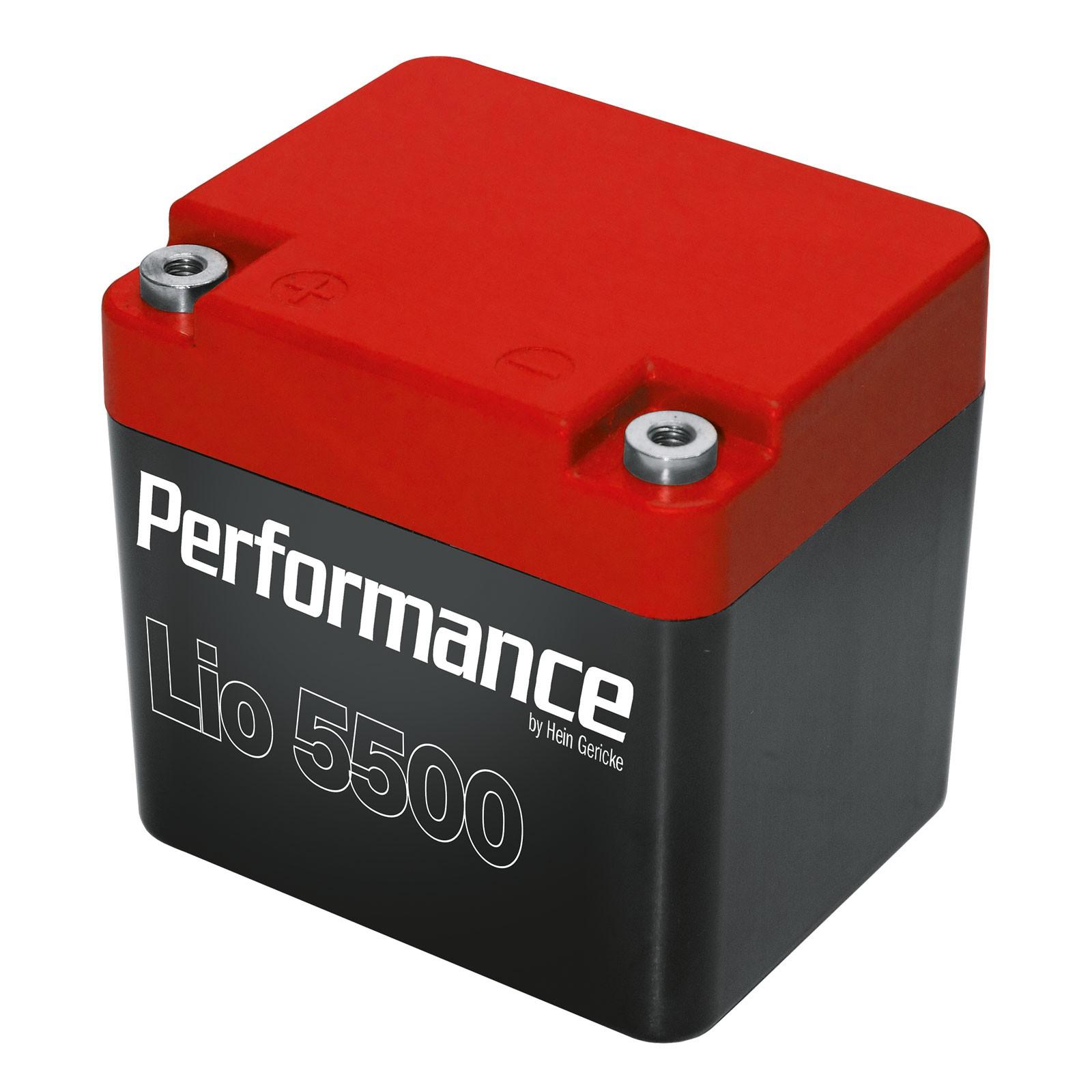 Performance Lithium Ionen Batterie LBP5500 von Hein-Gericke für 84€ ab 20 Uhr