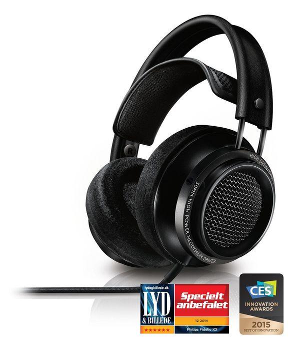 Philips Fidelio X2/00 - OverEar-HiFi-Kopfhörer für 195,00€ bei coolshop.de