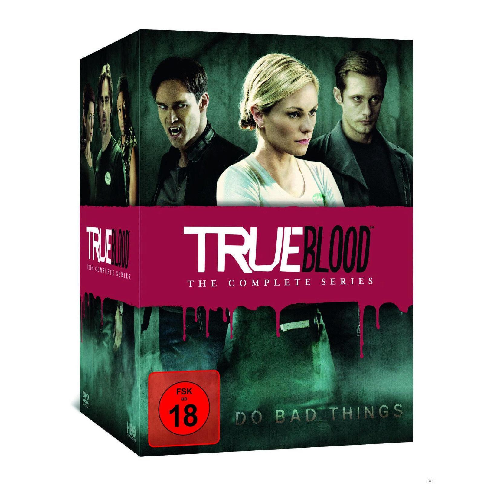 True Blood - Staffel 1-7 (33 Discs DVD) für 22€ (Saturn)