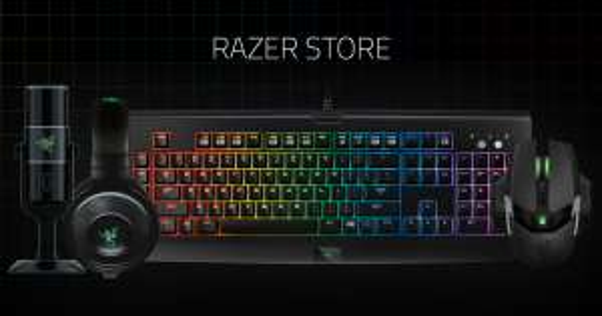 Razer 50% auf einen Artikel (nur Razer Insider)
