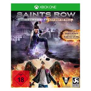 Saints Row IV Re-elected + Gat Out of Hell (Xbox One) für 7€ versandkostenfrei (Real)