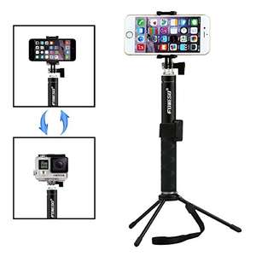 Foneso Bluetooth Selfie Stick mit integriertem Stativ