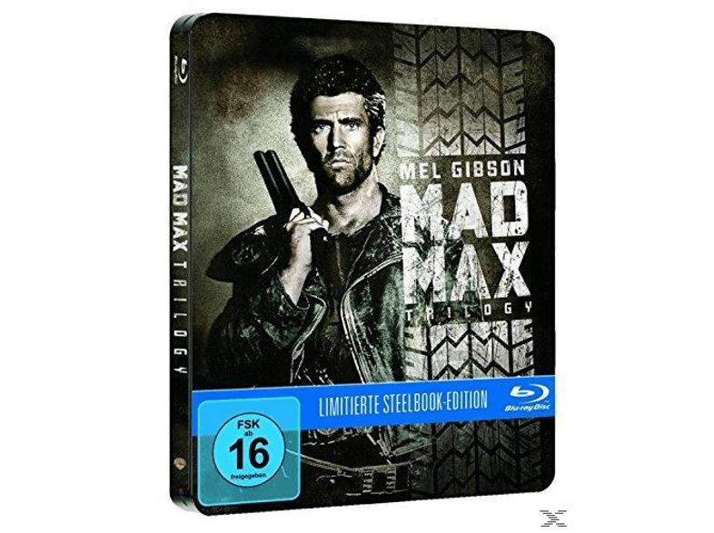 (Saturn) Mad Max Trilogie - Steelbook (Blu-ray) für 15€