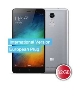 (Honorbuy) Xiaomi Redmi Note 3 4G LTE- Int. Vers - Special Edition - Band 20 - Grau