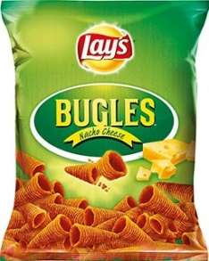 (Real) Lay's Bugles Mais-Snacks und leckere, geriffelte Kartoffelchips für nur 99 Cent