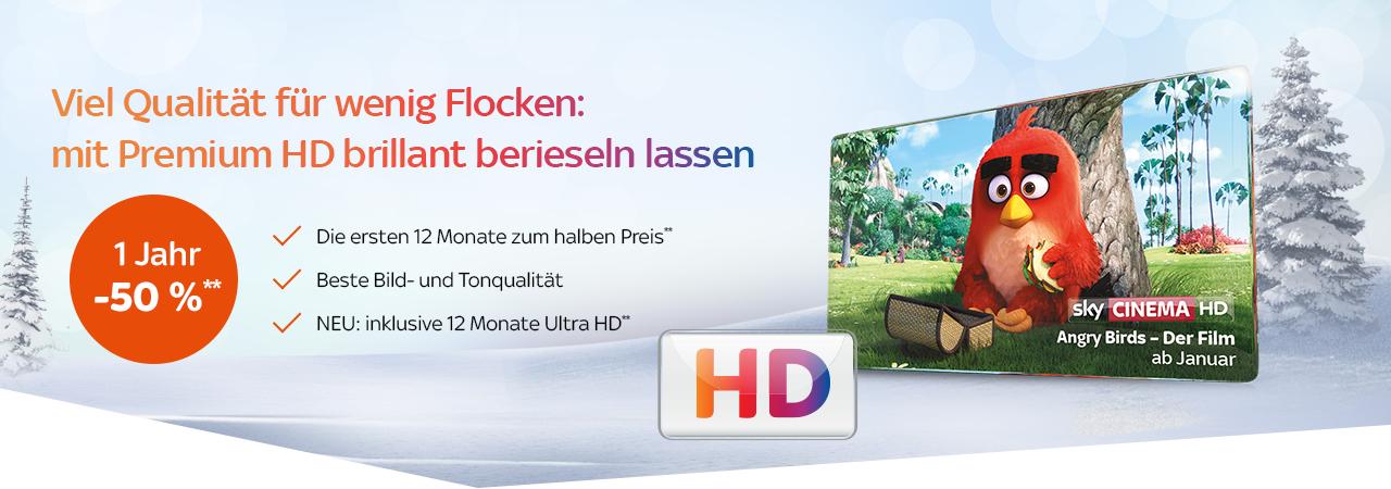 Sky Bestandskunden HD Premium im erste Jahr 5€ bzw. 5,25€ im zweiten 10€ bzw. 10,25€
