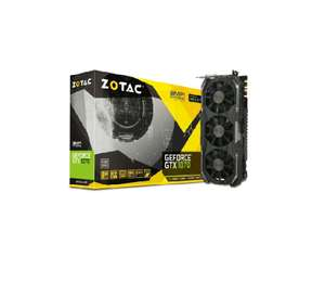 [Future X] ZOTAC GeForce GTX 1070 AMP! Extreme Grafikkarte 8 GB PCIe 3.0 3x Display Port für 413,58€