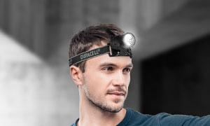 Duracell 19-fach Power-LED Stirnlampe für 0€ + VSK bei druckerzubehoer