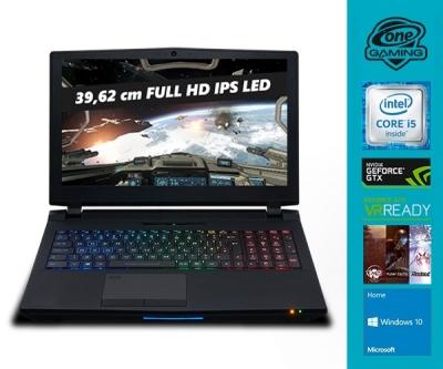 CLEVO P751 Notebook (15,6'' FHD IPS G-Sync, i5-6500 Desktop-CPU, 8GB RAM, 128GB SSD M.2 + 500GB HDD, GTX 1060 mit 6GB, Wlan ac + Gb LAN, bel. Tastatur, Wartungsklappe, Win 10) für 1149,57€ [One]