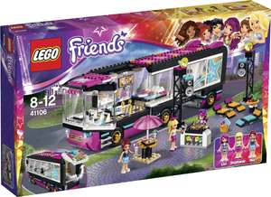 [amazon.fr] LEGO Friends 41106 - Popstar Tourbus | 35,90 € inkl. Versand statt 47,94 €