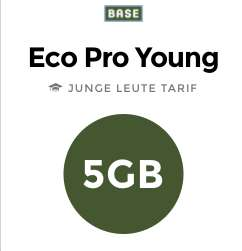 """[handyflash] Neue Base-Tarife: Eco Pro Young: All-in SMS/Telefonie, 5GB LTE (""""Alte"""" Leute: 4GB) ohne Datenautomatik für dauerhaft 13,99€/Monat und 3 Monate keine Grundgebühr"""