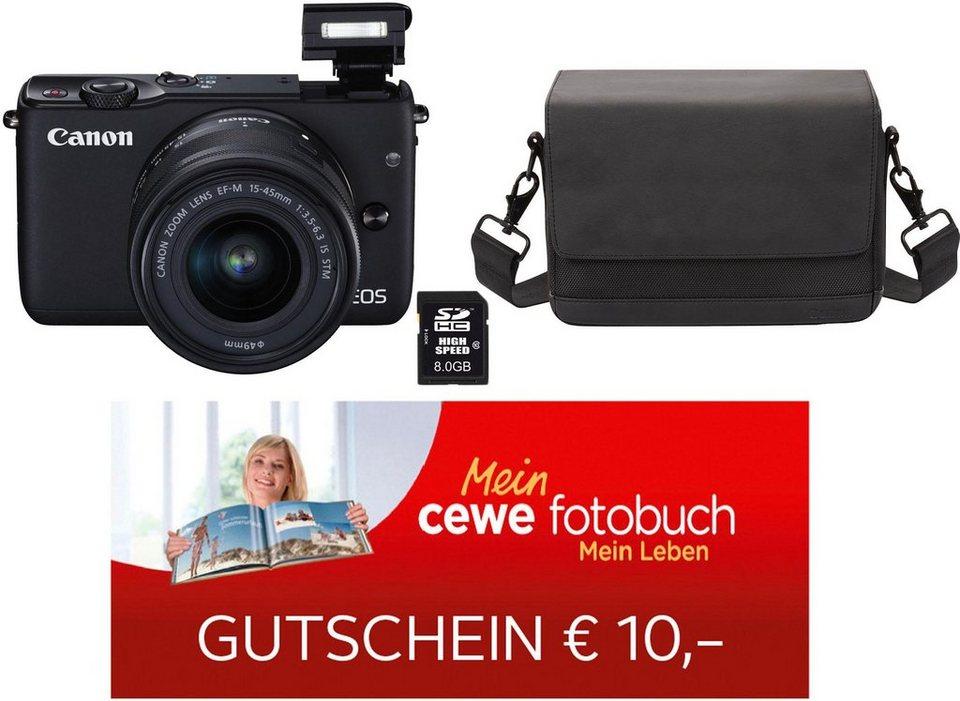 Canon EOS M10  inkl. Tasche & 8GB SD-Karte
