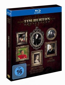 Tim Burton Collection (Bluray) für 9,93€ [Alphamovies]