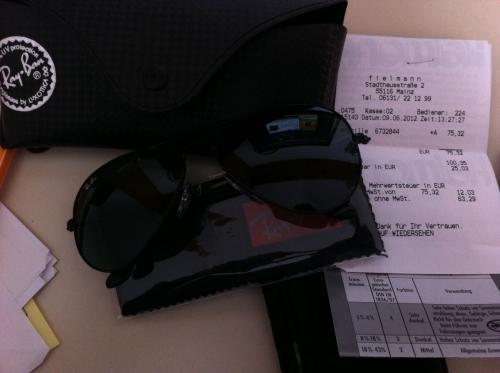 """RAY BAN Sonnenbrille """"Aviator"""" RB3025 in div. Farben und Größen mit Fielmann Preisgarantie kombinierbar!!!!"""