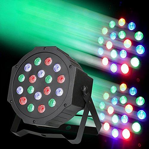 [amazon.de PRIME] Generic Disco Licht 18 LED 17.8 x 6.5 x 17 cm
