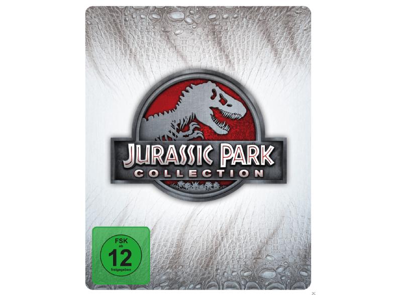Jurassic Park 1-4 Collection (Steelbook) [Blu-ray] @ mediamarkt.de