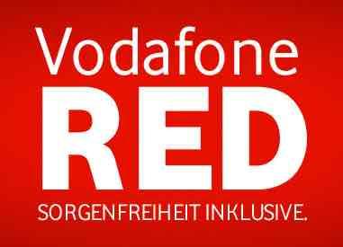 Vodafone Red L * mit 12 GB * Eu Flat, Eu Datenflat (Gigakombi möglich!)