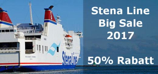 50% Rabatt beim Stena Line Big Sale
