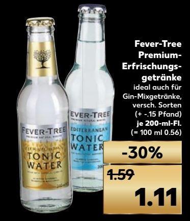 [Kaufland] Fever Tree 0,2l versch. Sorten (u.a. Tonic Water)