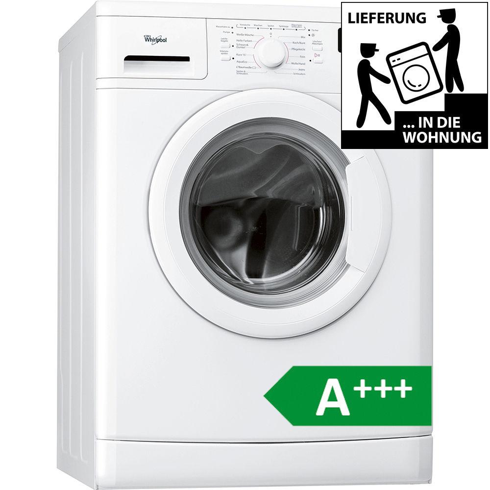 WHIRLPOOL A+++ 7kg Waschmaschine Frontlader AWO 7848 unterbaufähig 1400 UpM