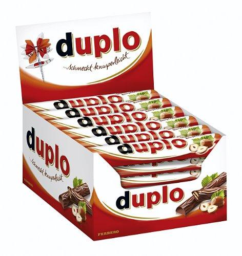 Amazon Prime: Duplo Multipack 1er Pack mit 40 Riegel (1 x 728 g Packung) für 7,96 € (14,98 € PVG)