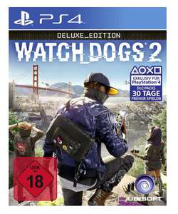 (GameStop) Watch Dogs 2 Deluxe Edition (PS4/Xbox One) für 39,99€