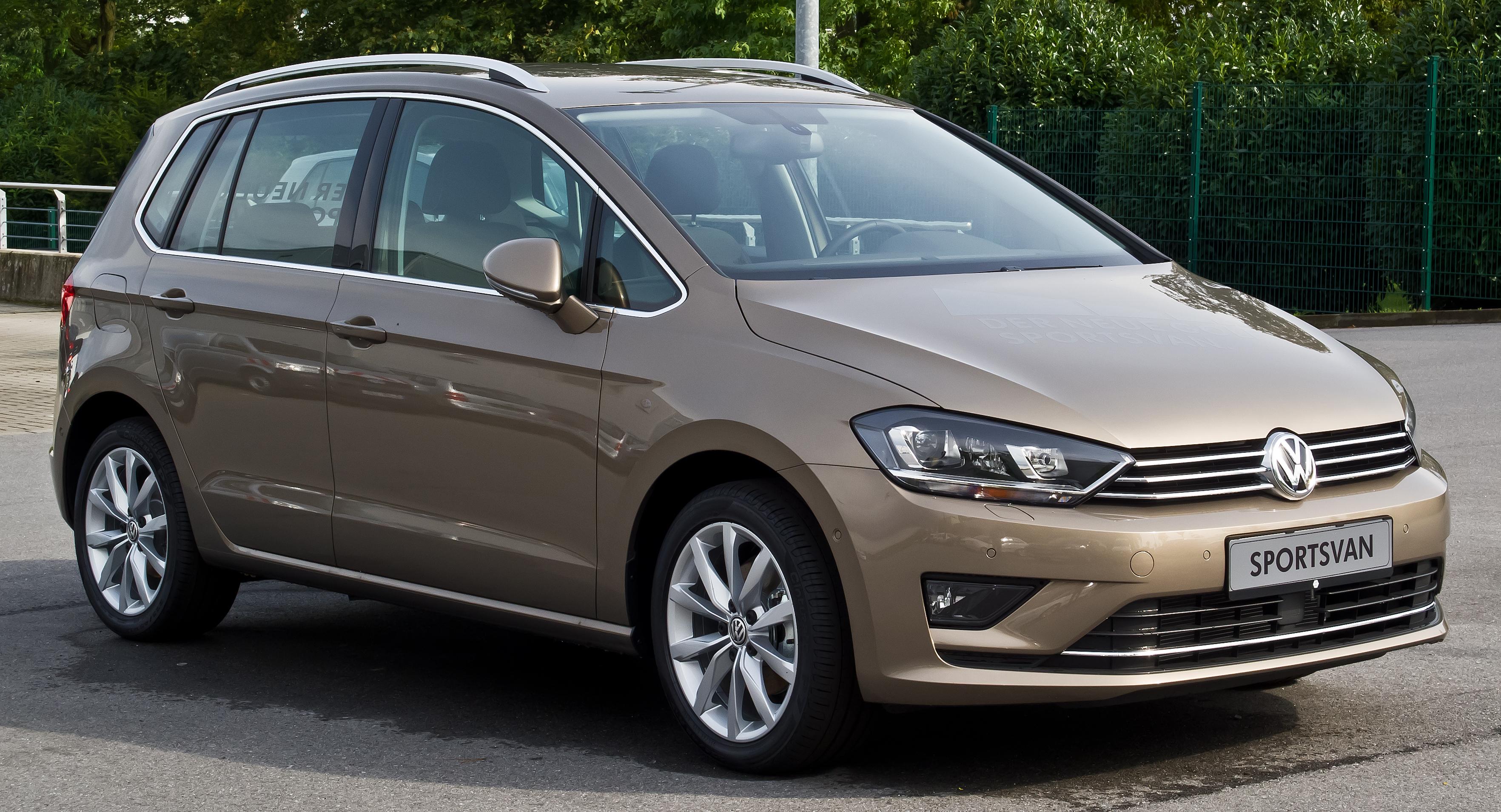 [Gewerbeleasing] VW Golf Sportsvan Highline (125 PS) für mtl. 99€ / netto und Sonderzahlung über 24 Monate mit 10.000km p.a. bei Autohaus Bauer
