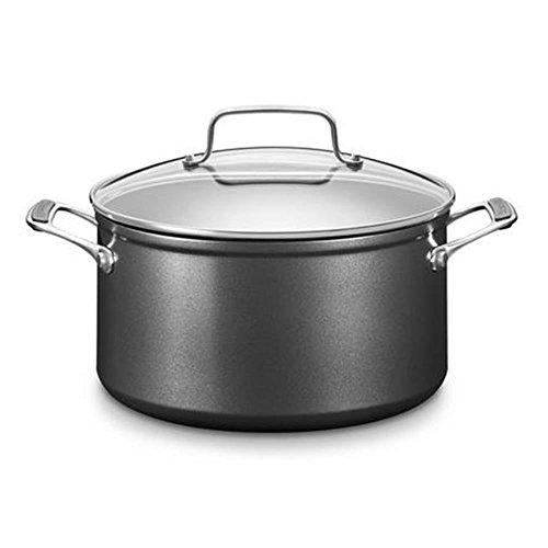 KitchenAid KC2H160LCKD Kochtopf, aluminium, 18 x 18 x 8 cm, schwarz / silber für 38,34€ @Amazon.de