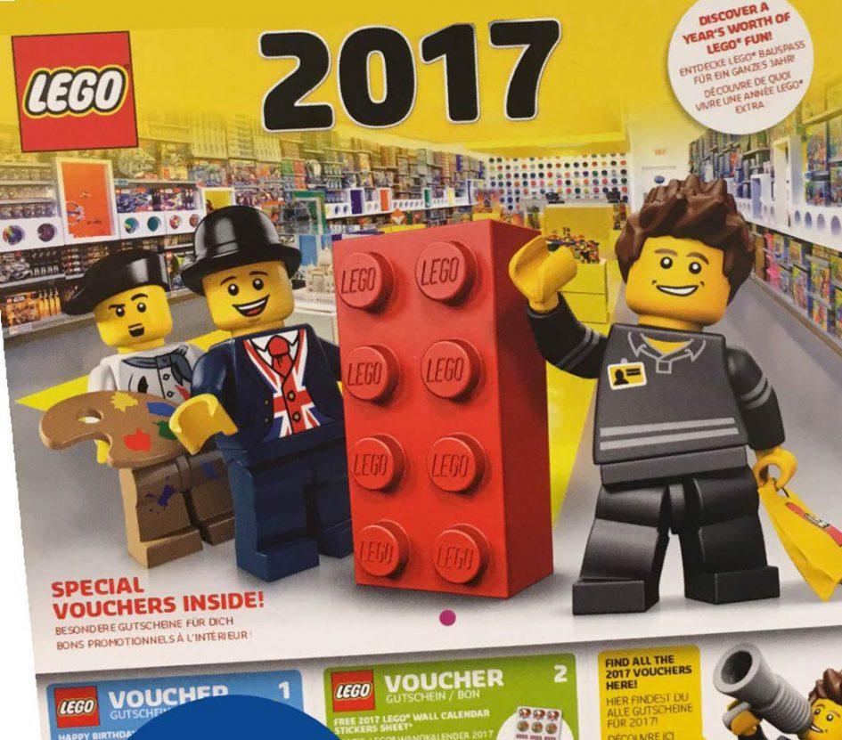 LEGO Wandkalender 2017 gratis im Lego Store (lokal / offline)