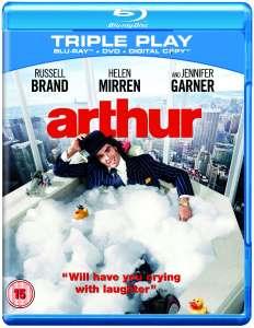 »Arthur« (engl. Ton) mit Russell Brand als Blu-ray/DVD/digital bei Zavi für 4,69€